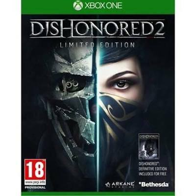 DISHONORED 2 LIMITED EDITION Microsoft Xbox One Game