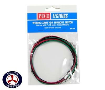 Peco Wiring Looms from PL10 PEC-PL34 Brand New