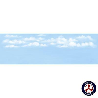 Peco Scenic Background Sky with Clouds Large PEC-SK19 Brand New