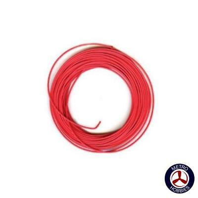 Peco Electrical Wire Red 3A PEC-PL38R Brand New