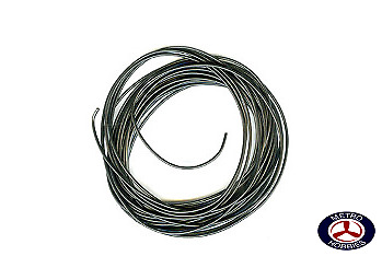 Peco Electrical Wire Black 3A PEC-PL38BK Brand New