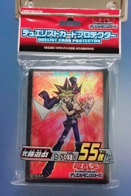 Yugioh Official Card Sleeve Protector : Muto Yugi  55pcs (Japanese)
