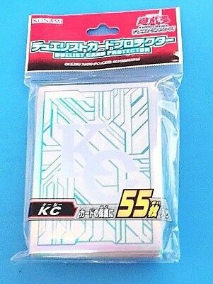 Yugioh Official Card Sleeve Protector:  KC Kaiba Corp / 55pcs (Japanese)