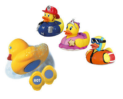 Munchkin Baby Fun Bath Toy White Hot Safety Duck Ducky Characters 1piece New