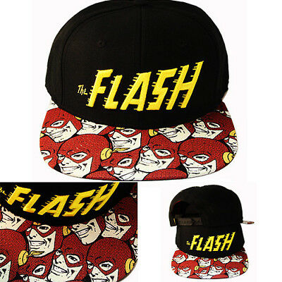 best loved release date: official supplier DC COMICS MARVEL Cartoon The Flash Snapback Hat Video Game ...