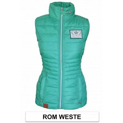 ESPERADO Rom Weste Lightweight Gilet in Mint ~ REDUCED PRICE ~ NEW WITH TAGS