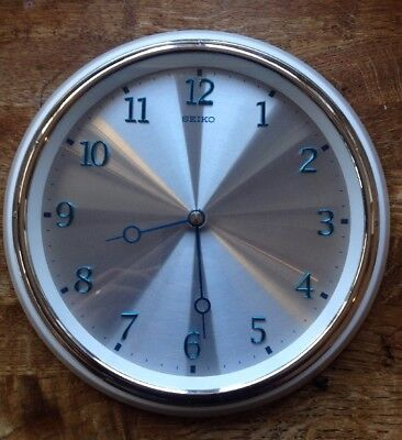 Gorgeous SEIKO Vintage Retro Industrial Factory/Kitchen Wall Clock