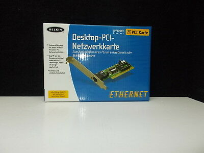 Belkin Desktop - PCI - Network card ; 10/100BT ; 32 bit PCI Card; #K-32-2