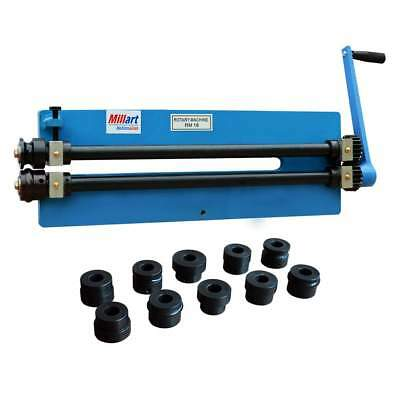 Millart 18 Gauge Manual Bead Roller Rotary Swage Metal Fabrication Machine