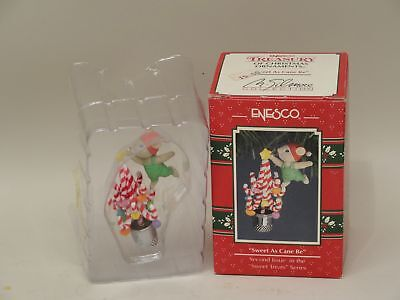 Enesco Sweet As Cane Be Second Issue Sweet Treats Series 1992