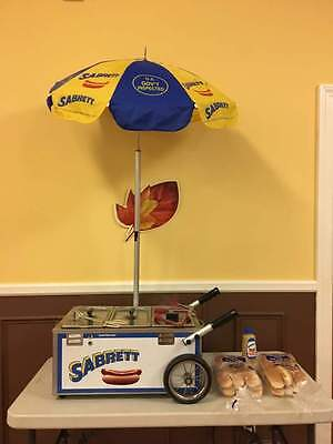 Sabrett Hot Dog Table Top Cart New From Auth. Dealer