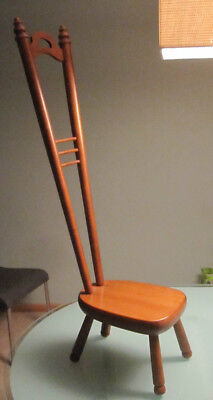 Unique Tell City Mini Chair - Stepping Stool - Pouting Chair / Great Condition