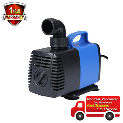 GreenWise® 770GPH GPH Submersible Pump Fountain Water Pump Aquarium Fish Tank