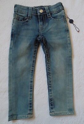 Nwot True Religion Kninny Boys Girls Toddler Jeans, Sz 2T