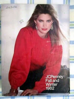 Vintage 1982 JC PENNEY fall-winter catalog - original - GREAT+++ condition