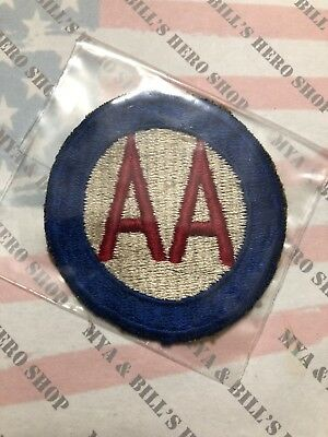 Anti Aircraft Command AA US Army Unit Patch Color Sew On