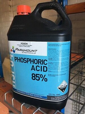 phosphoric acid 85% 5kgs