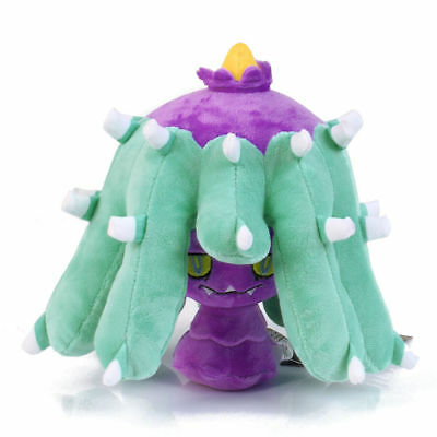 "Pokemon Center Mareanie Plush Toy Hidoide Stuffed Animal Doll Figure 8"" Gift US"
