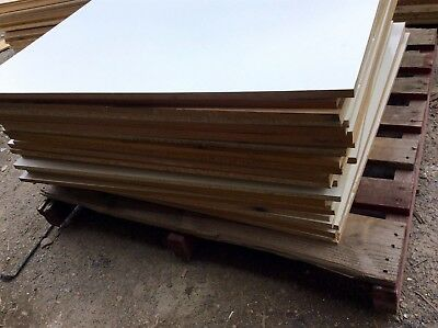 Mdf And Chipboard 1000 X 1000 X 16Mm Second Sheets  Mixed Colours Pack Lot