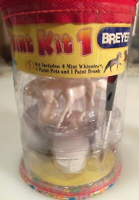 Just in time for Christmas! Breyer Mini Whinnies Paint Kit 1 #4121!