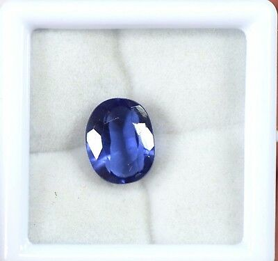 10.35 Ct Natural  EGL Certified Ceylon Blue Sapphire AAA Quality Loose Gemstone