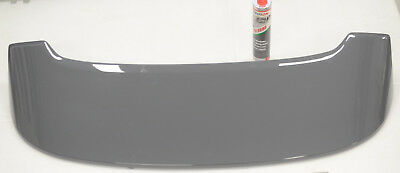 Fiat 500 Abarth Rear Tailgate Roof Spoiler Genuine New Dark Grey With Glue 735A