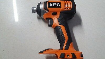 AEG BSS 18C 18V Cordless Compact Impact Driver - Skin Only / Very Good Condition