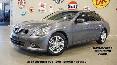 2013 Infiniti G37  13 G37 JOURNEY SEDAN,AUTO,SUNROOF,NAV,BACK-UP,HTD LTH,17IN WHLS,59K,WE FINANCE!!
