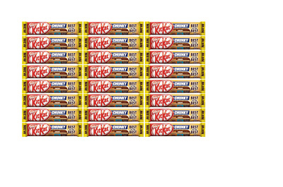 909700 24 x 52g BARS OF NESTLE'S KIT KAT CHUNKY BEST OF THE BEST NEW CHOCOLATE!