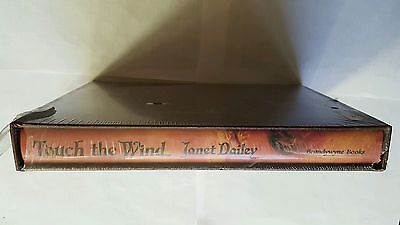 Janet Dailey Signed Touch The Wind New 1984 Ltd Edit HardB Book Slipcase