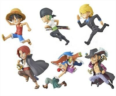One Piece World Collectable Figure WCF History Relay 20th Anniversary 6 Figures