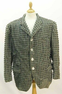 Green Victorian Style Costermonger Jacket