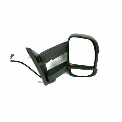 Fiat Ducato Electric And Heated Drivers Side Door Mirror Long Arm 2006 Onwards
