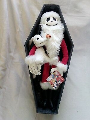 Disney Tim Burton's the nightmare before Christmas jack in coffin gift box