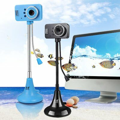 ASHU USB 3Mega Pixel HD Webcam Camera With MIC Microphone For PC Laptop Skype HK