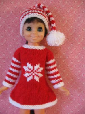 Ideal Crissy/Chrissy  Mia dressed in her snowflake outfit