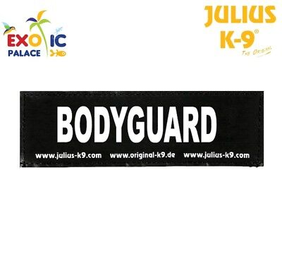 Julius-K9 2 Etichette Velcro Patch Bodyguard Per Pettorina Cane Idc Belt Power