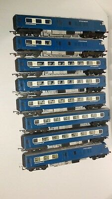Pullman Set Oo/ho No Box 2Xpowered 1X Dummy 5X Carriages