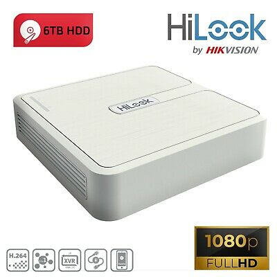 HIWATCH BY HIKVISION DVR-204G-F1 8 Channel 2MP TVI/AHD/CVI