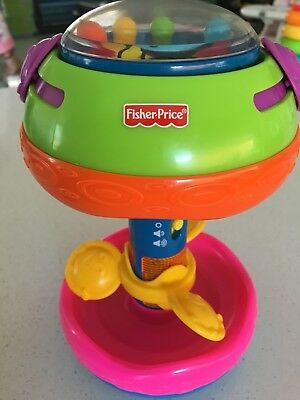 Fisher Price Bat and Crawl Rollerbar Used Like New