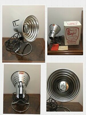 Vintage Retro Gilseal by Breville Infra Red Lamp NIB