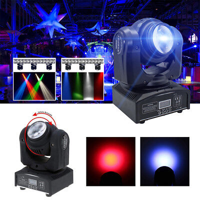 80W Double Sides RGBW Spot Beam Moving Head Stage Light DMX512 DJ Party Lighting