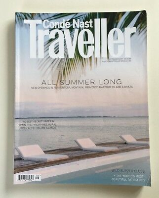 Conde Nast Traveller CN Magazine September 2017 'All Summer Long' Holiday Style