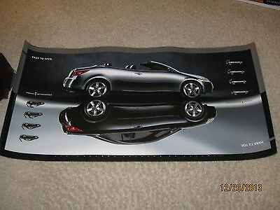 "Pontiac G6 Hard Top Convertible 14 x 28"" Promo Poster Advertising 2006 2007 2008"