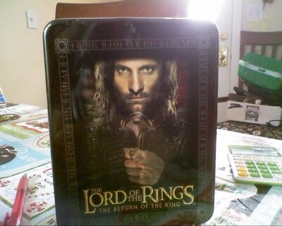 Lord of the Rings Return of the King Collectible Action Flipz In Tin