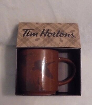 2017 Tim Hortons Christmas Coffee Mug Goose Brand New