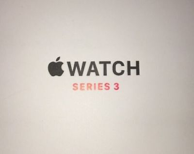 2 X Apple Watch Series 3 42mm BOX ONLY FREE SHIPPING