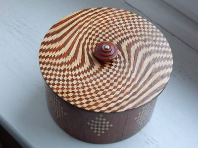 Very interesting and unusual parquetry box