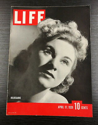 LIFE Magazine, April 17th 1939