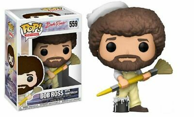 Funko Pop! TV Bob Ross The Joy Of Painting Bob Ross w/ Paintbrush